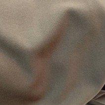 Drap de laine velours taupe