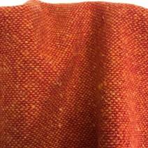tissu fauteuil orange