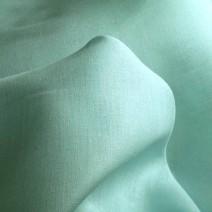 Toile de lin bleu lagon