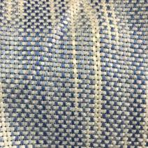 tissu tweed bleu et blanc au metre