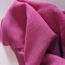 Tissu rose au mètre léger