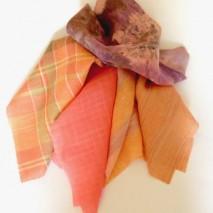 Patchwork tissu coordonné Mandarine
