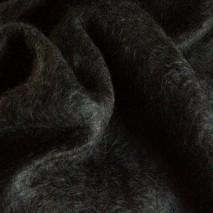 Tissu ameublement - laine mohair tissu noir couture plaid mohair