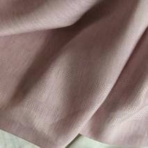 Tissu brillant à rayures bayadères - tissu rose pale - vente tissus