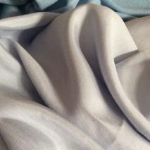 Tissu brillant bleu - tissu double face - vente tissus