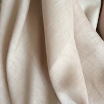 tissu lin beige tissu ameublement au metre - tissu voilage