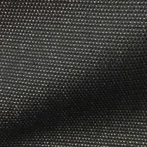 Tissu noir à pointillé cuivré tissu pour mètre