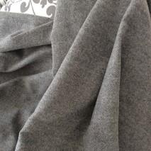 Tissu noir et blanc, tissu faux uni à poils ras tissus ameublement