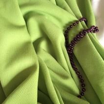 Vente de tissu vert pomme - tissu habillement