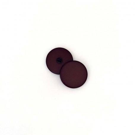 Bouton tige de grosse taille chocolat