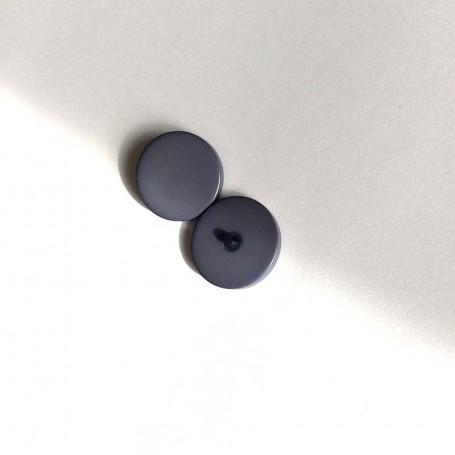 Bouton tige de grosse taille gris lavande
