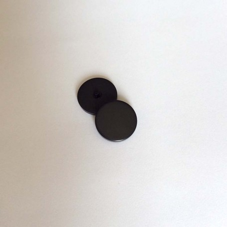 Bouton tige de grosse taille noir