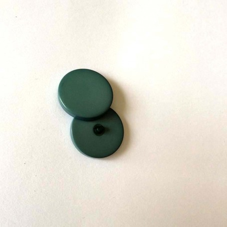 Bouton tige de grosse taille vert sapin