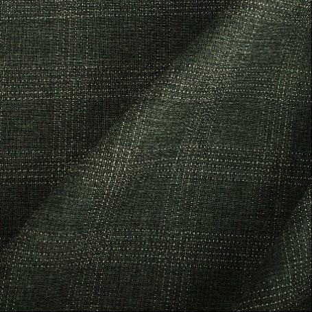 Tissu polyester laine gris et blanc