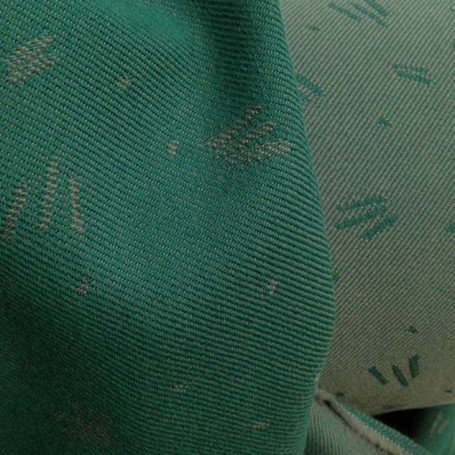 jacquard vert et gris ameublement