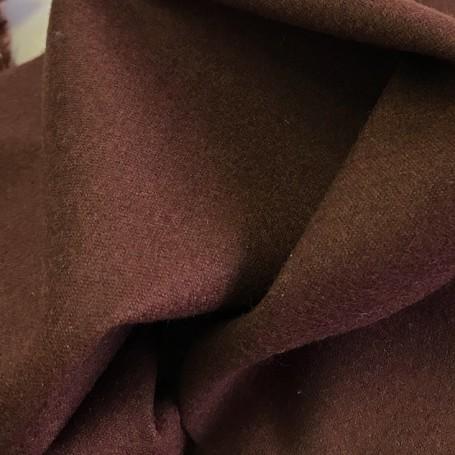 tissu pour manteau marron