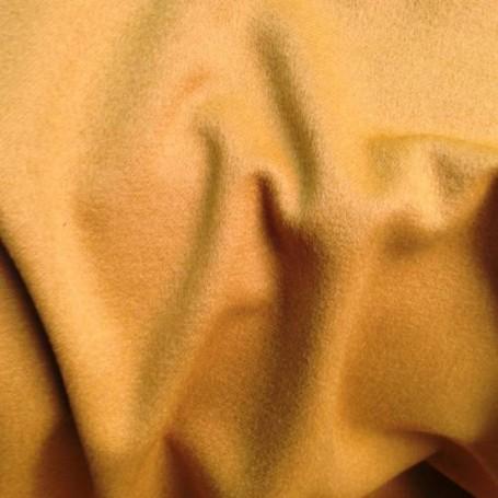 Drap de cachemire jaune