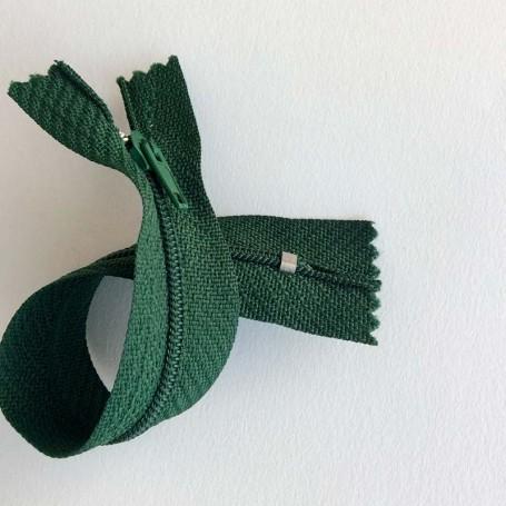Fermeture à glissière curseur bloquant Vert Bouteille