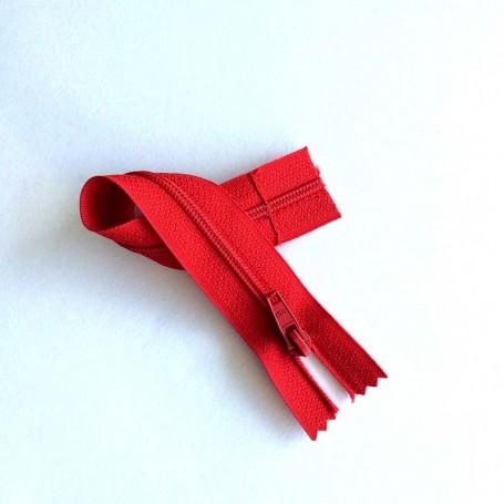 Fermeture à glissière Rouge