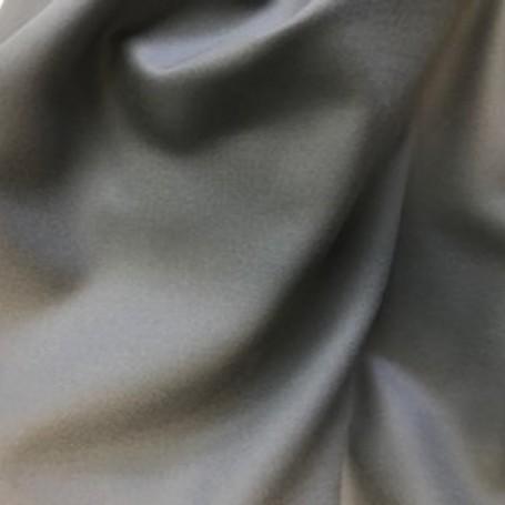 Flanelle de laine gris clair, tissu au metre