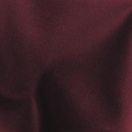tissu flanelle de laine rouge foncé