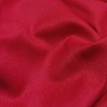 Tissu flanelle de laine peignée tissu ameublement rouge