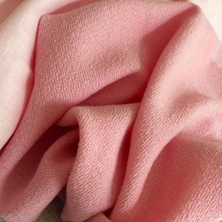 Laine boulllie rose laine