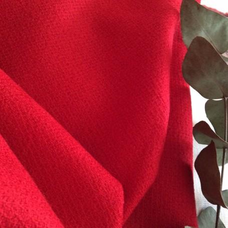 laine bouillie rouge