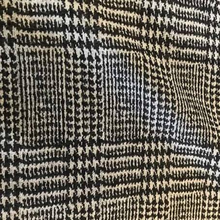 Motif Prince de Galles gris cardailhac