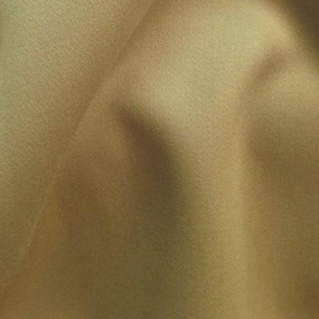 tissu laine satin tissu jaune