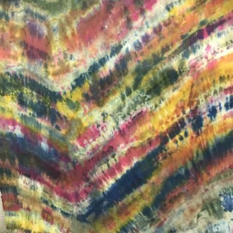 Tissu tie and dye