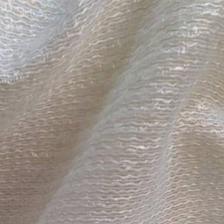 Tissu mohair jacquard blanc