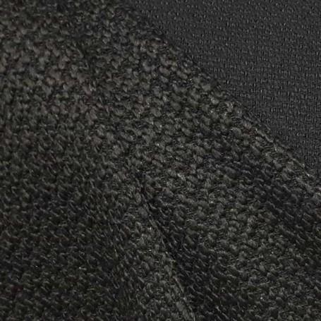 tissu noir tweed cardailhac