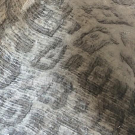 mohair gris argenté jacquard