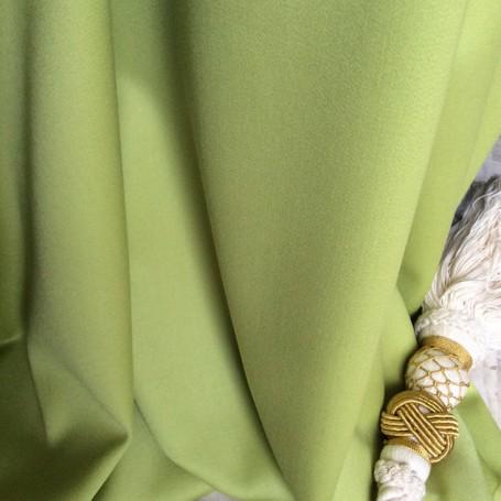 tissu ameublement vert anis cardailhac