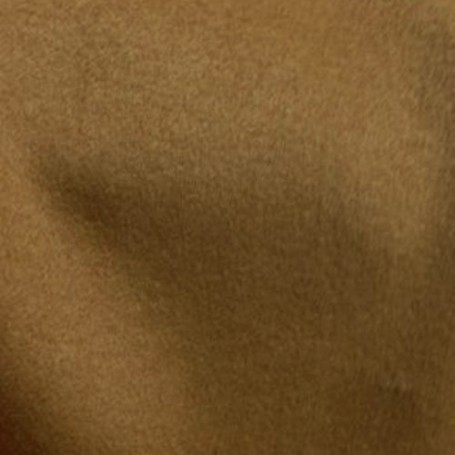 Tissu cachemire à poils couchés Camel