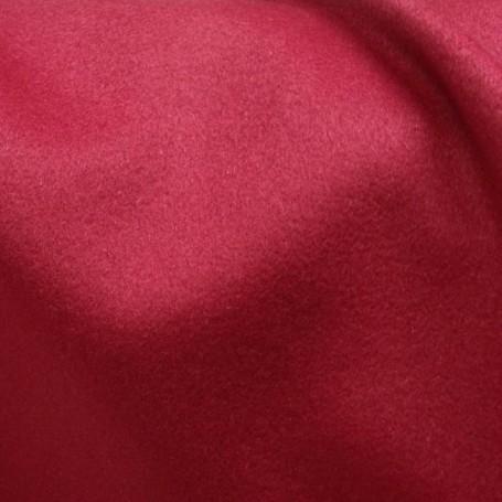 Echarpe cachemire tissu au metre rouge