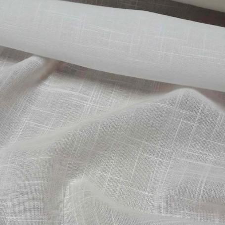 tissu blanc pour ameublement