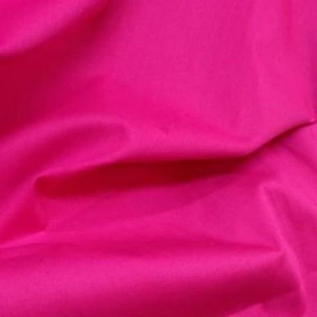 Tissu coton popeline fuchsia