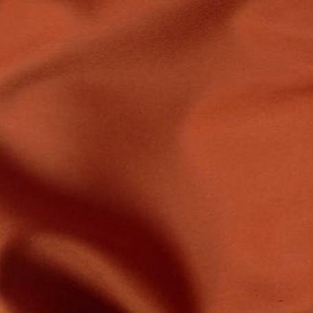 Tissu flanelle de laine orange 1632