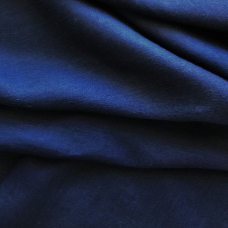 tissu ameublement bleu marine
