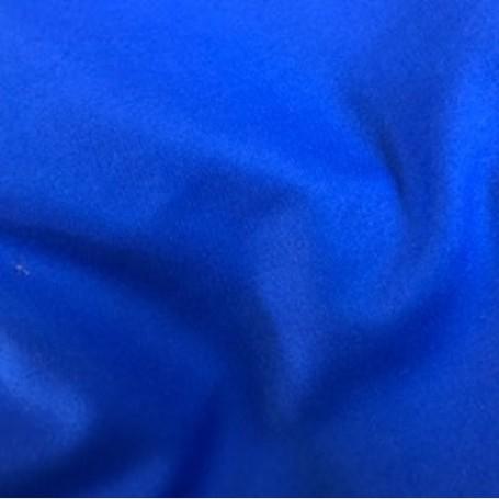 Tissu drap de laine peignée Bleu France