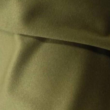 Tissu en cachemire kaki