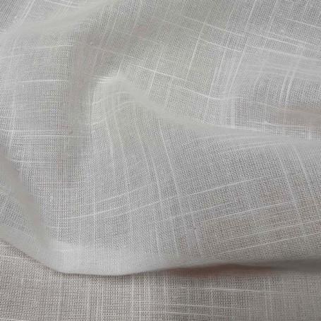 tissu blanc au metre