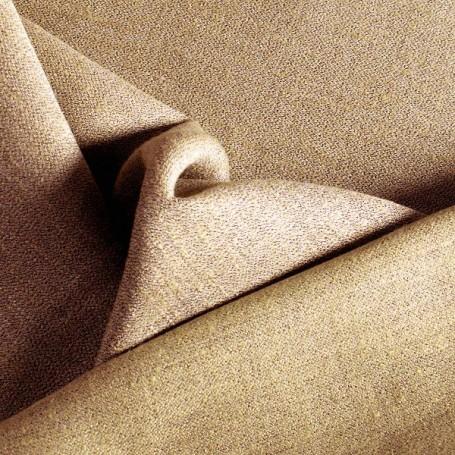 Tissu en lin beige double face