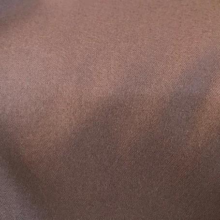 Tissu flanelle de laine peignée couleur