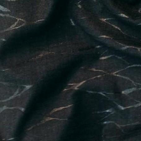 Tissu flanelle de laine gris et noir