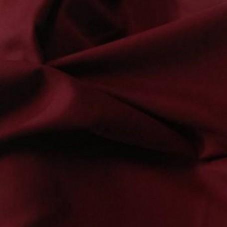 Tissu flanelle de laine peignée Bordeaux