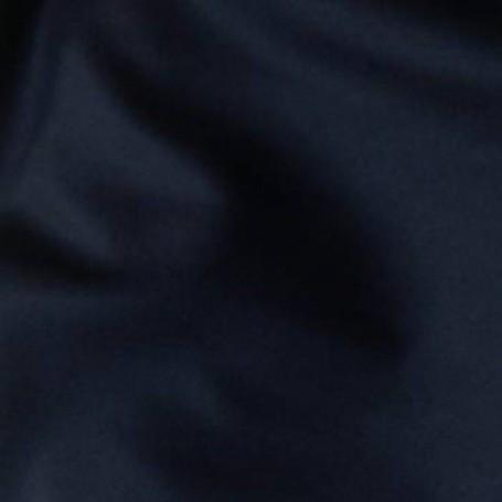 Tissu flanelle de laine peignée marine foncé