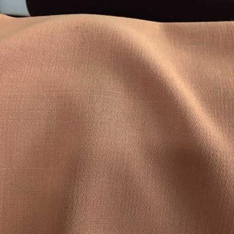 tissu crepe de laine tissu beige